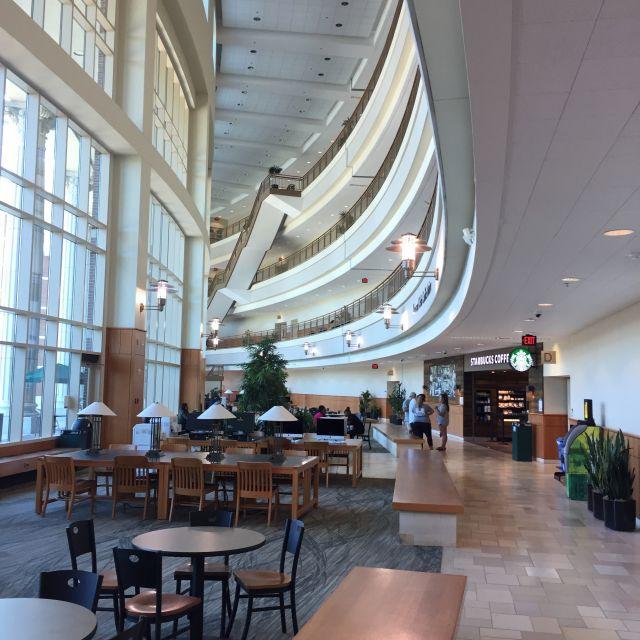 Das Science Gebäude auf dem Campus der Baylor Universität