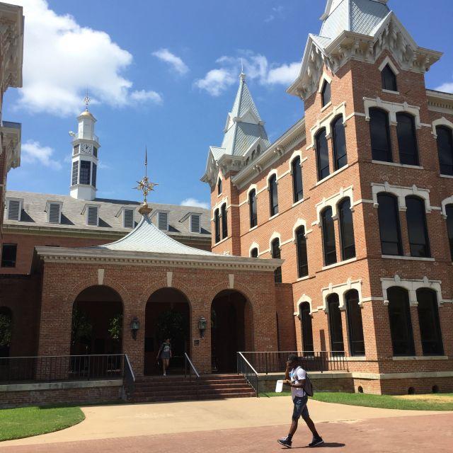 Das Gebäude der Social Sciences an der Baylor Universität