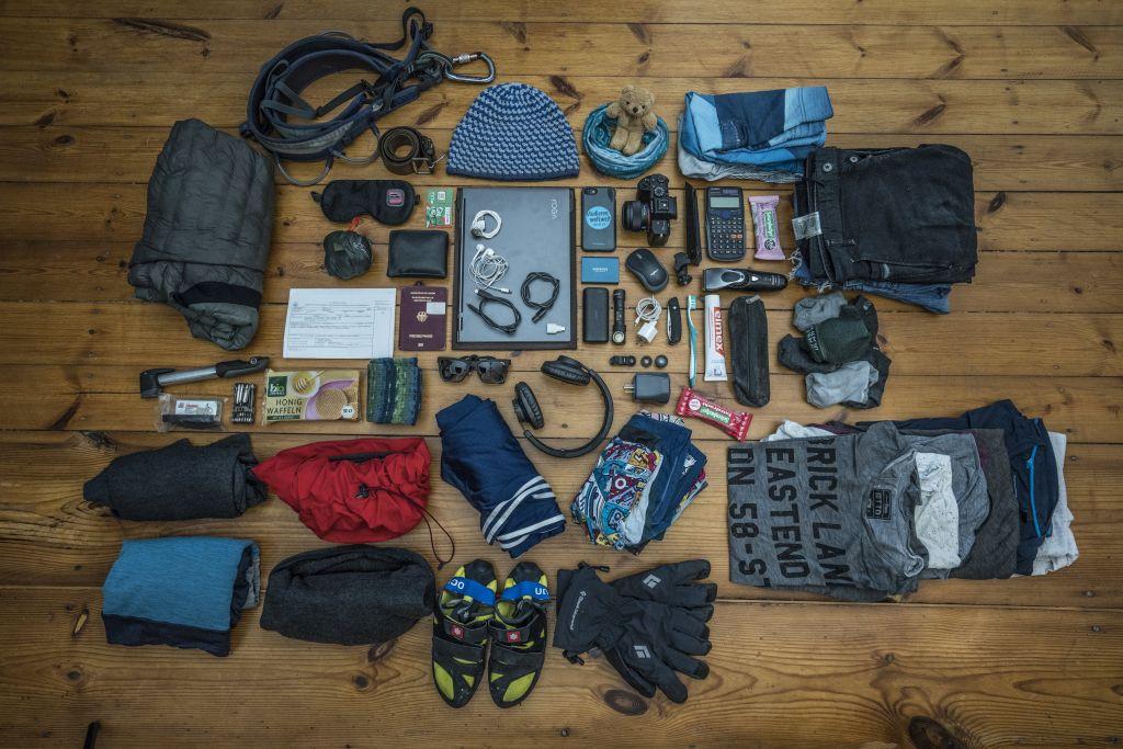 Packliste – bequemes Reisen