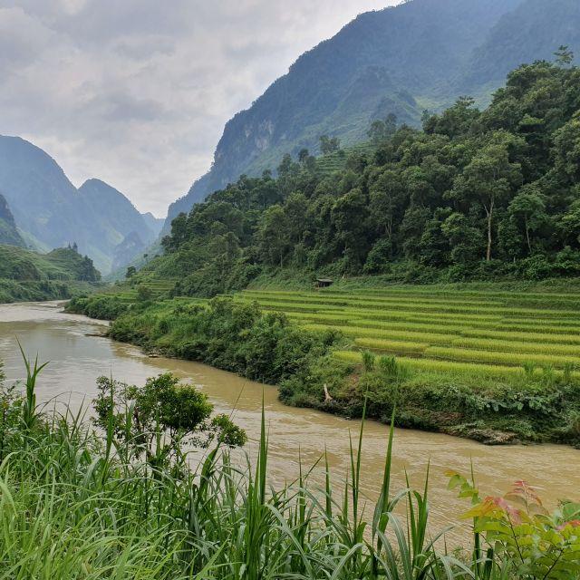Landschaft beim Ha Giang Loop