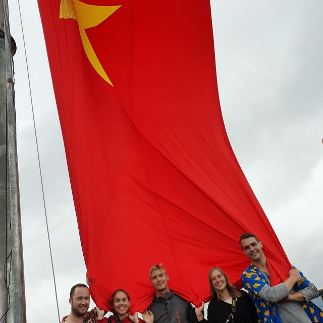 Die Flagge von Vietnam