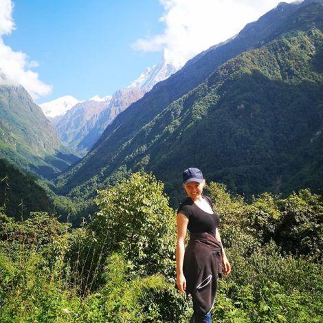 Tag 2 auf unserem Weg zum Annapurna base camp. Ich kann es immer noch nicht…