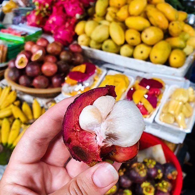 🥭🍉🍌🍇🍊🍍 Die Früchte hier in Vietnam sind unglaublich lecker…