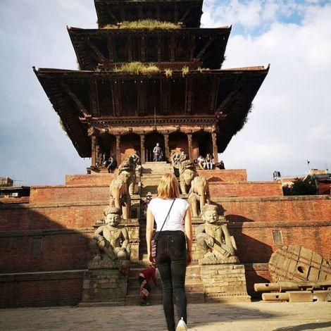 Der Bhaktapur Durbar Square war einer von drei königlichen Plätzen im…