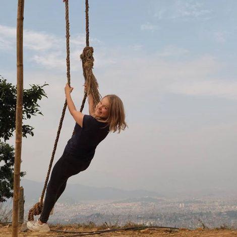 Ganz Nepal feiert momentan Tihar, wie ihr gestern schon in meiner Story…