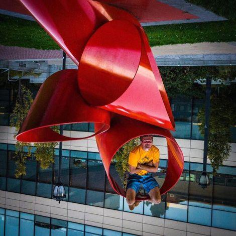## Upside down in San Fransisco ##…