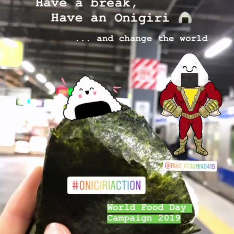 Let's change the world with the delicious Power of Onigiri! 🍙✨  …