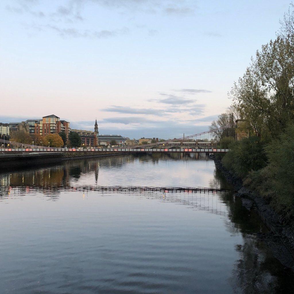 Abende am Clyde River ♥️…