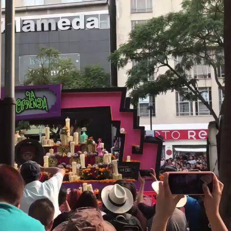 Día de los Muertos in #Mexiko-Stadt: Auch wenn dieser erst am 2.11. gefeiert…