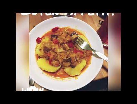 Kochanleitung: Veganer Szegediner Gulasch: Hier eine Anleitung, um das…