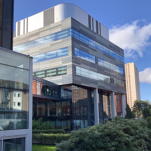 Die University of Strathclyde hat viele moderne Gebäude