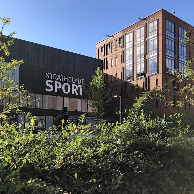 Das Sportzentrum - Hier geh ich jede Woche zum Badmintontraining hin.