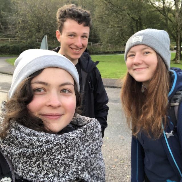In den Sportclubs lernt man am besten Leute kennen. Das sind meine schottischen Freunde und ich bei einem Wanderausflug mit dem Mountaineeringclub.
