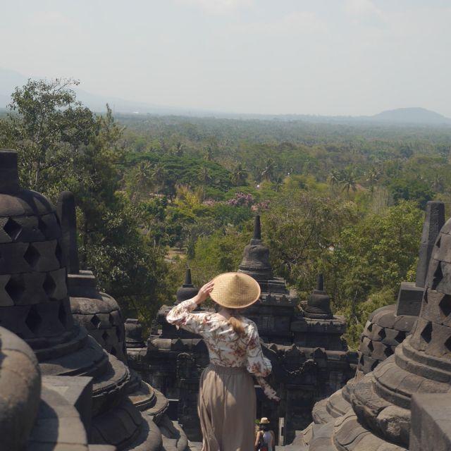 Aussicht vom Tempel Borobudur