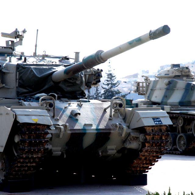 Ausgestellt Panzer: