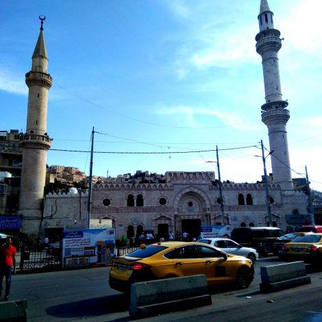 Großstadtfeeling in Amman