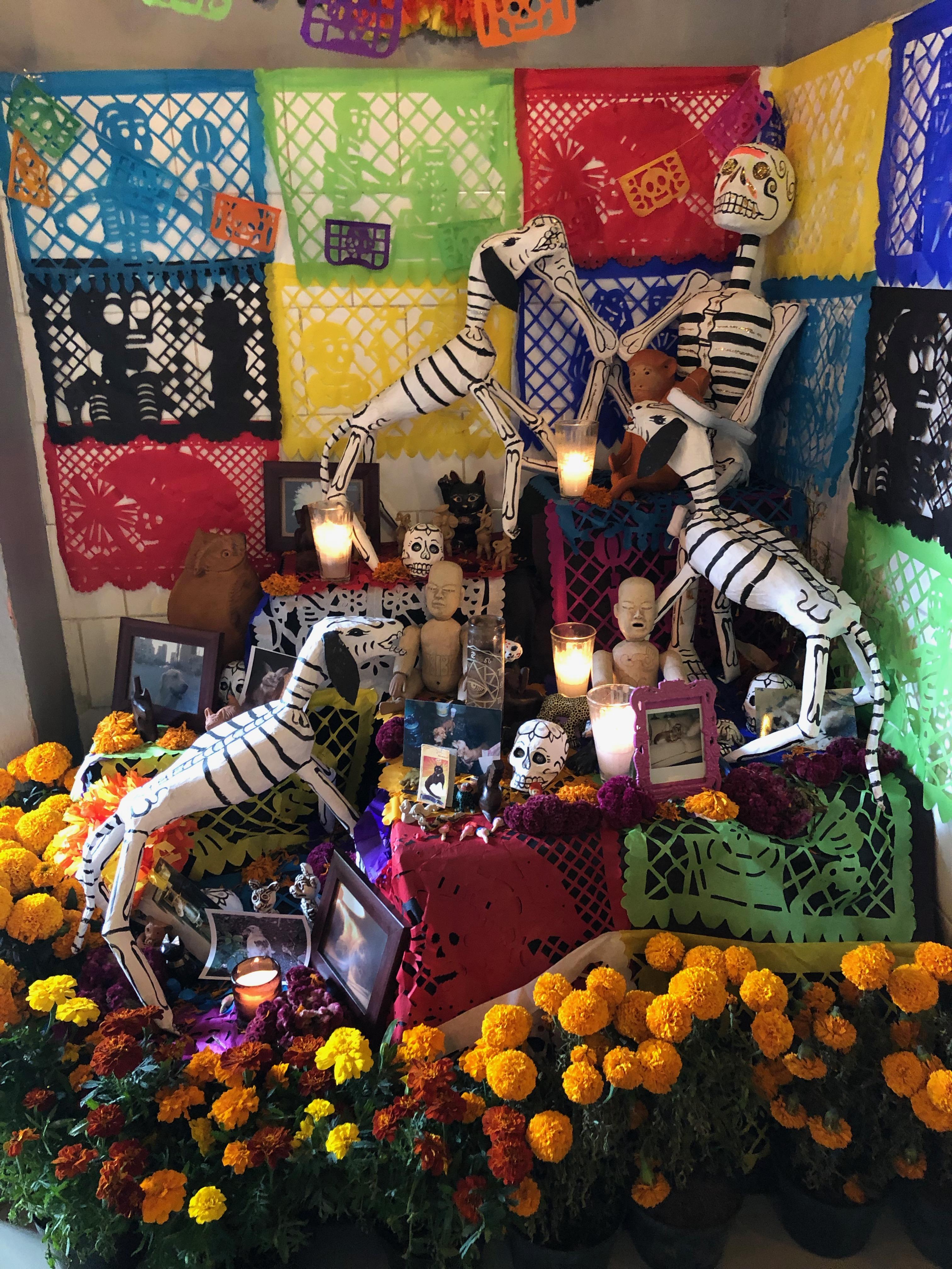 «El Día de los Muertos» in Mexiko