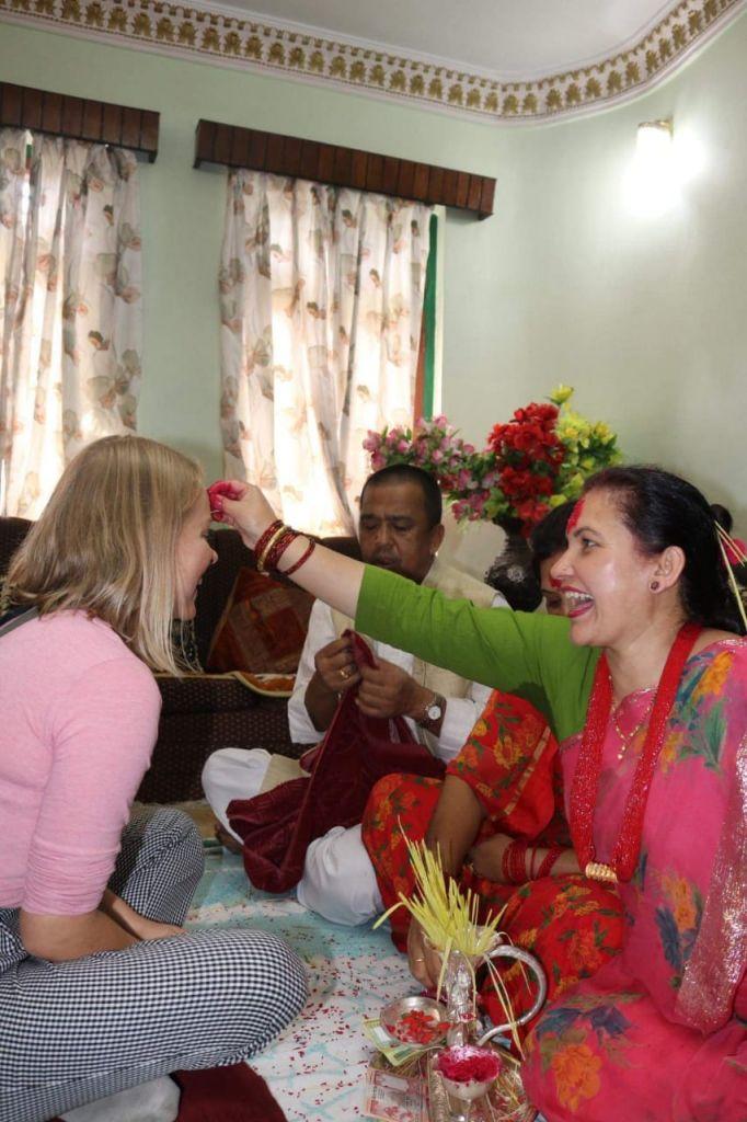 Tika, Ritual, Hinduismu