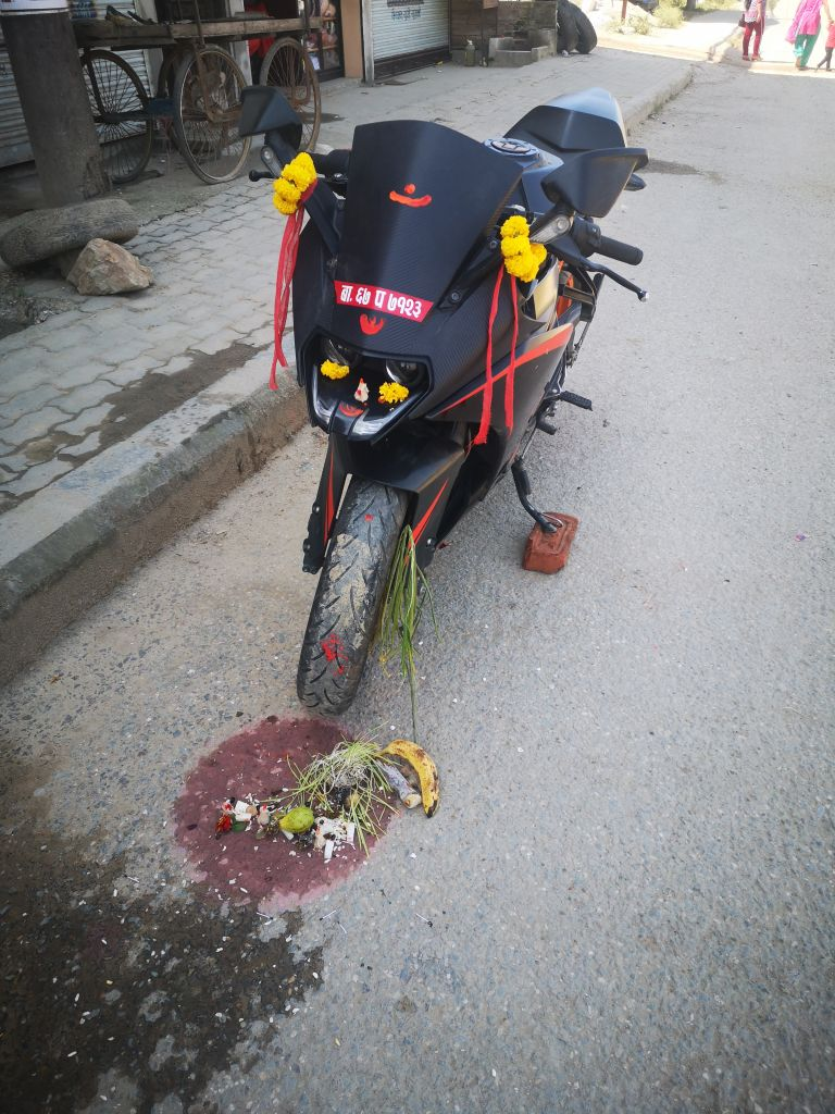 Motorrad, Ritual