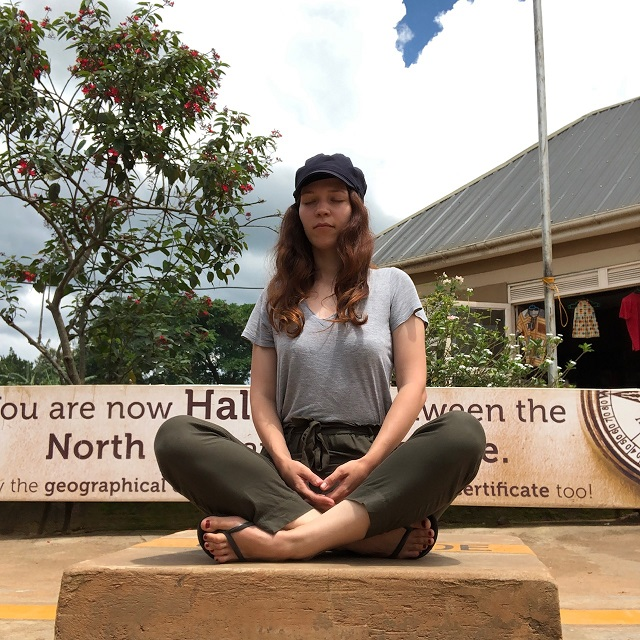 meditieren am Äquator