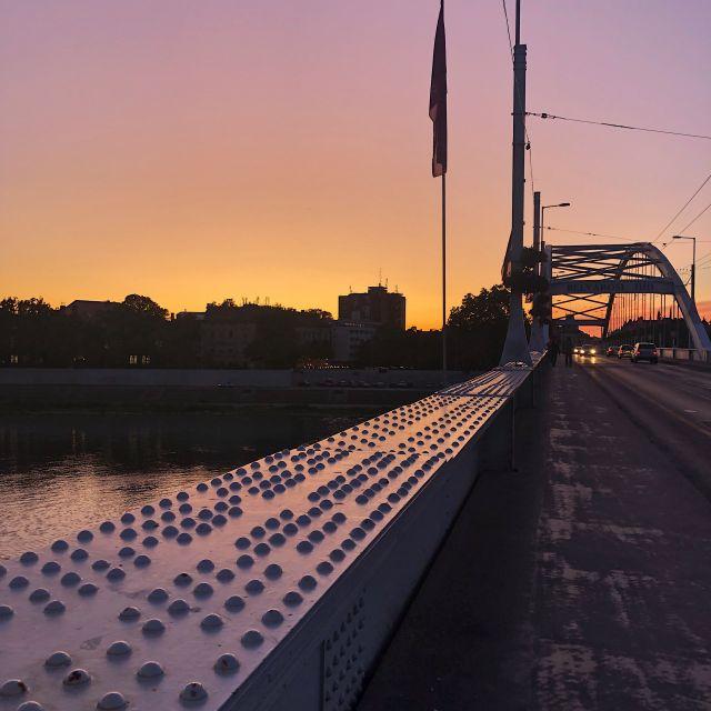 Sonnenuntergang Szeged