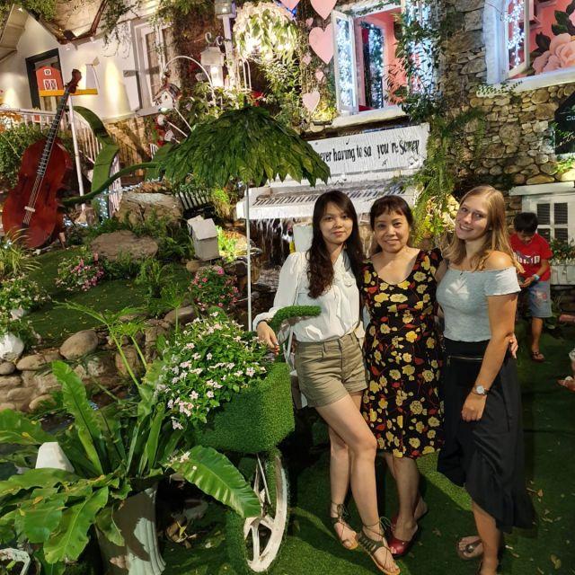 Minh, ihre Mutter und ich in einem schönen Café, dass sie mir gezeigt haben