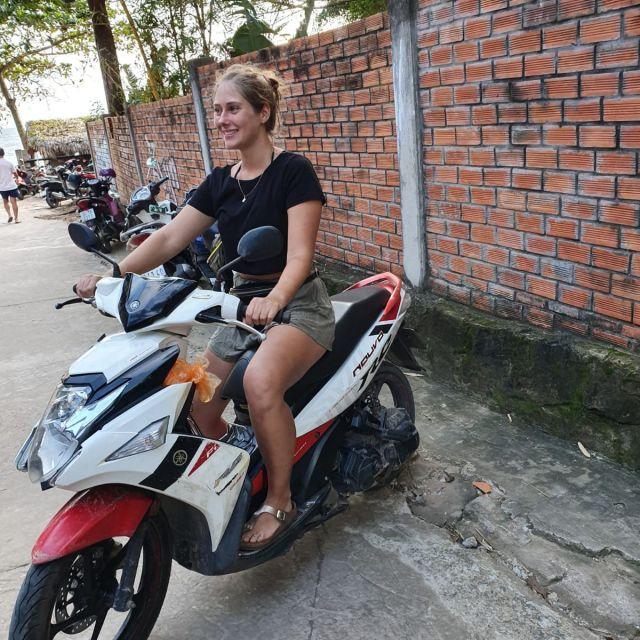 Es macht echt spaß mit dem Motorrad zu fahren, wenn nicht gerade Stau ist
