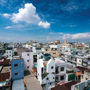 'Über den Dächern von Distrikt 10