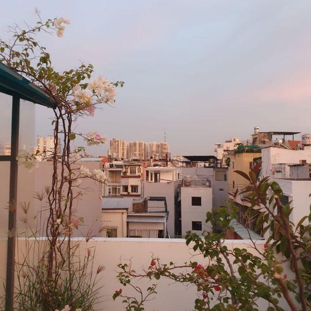 Der Ausblick von meiner Dachterrasse