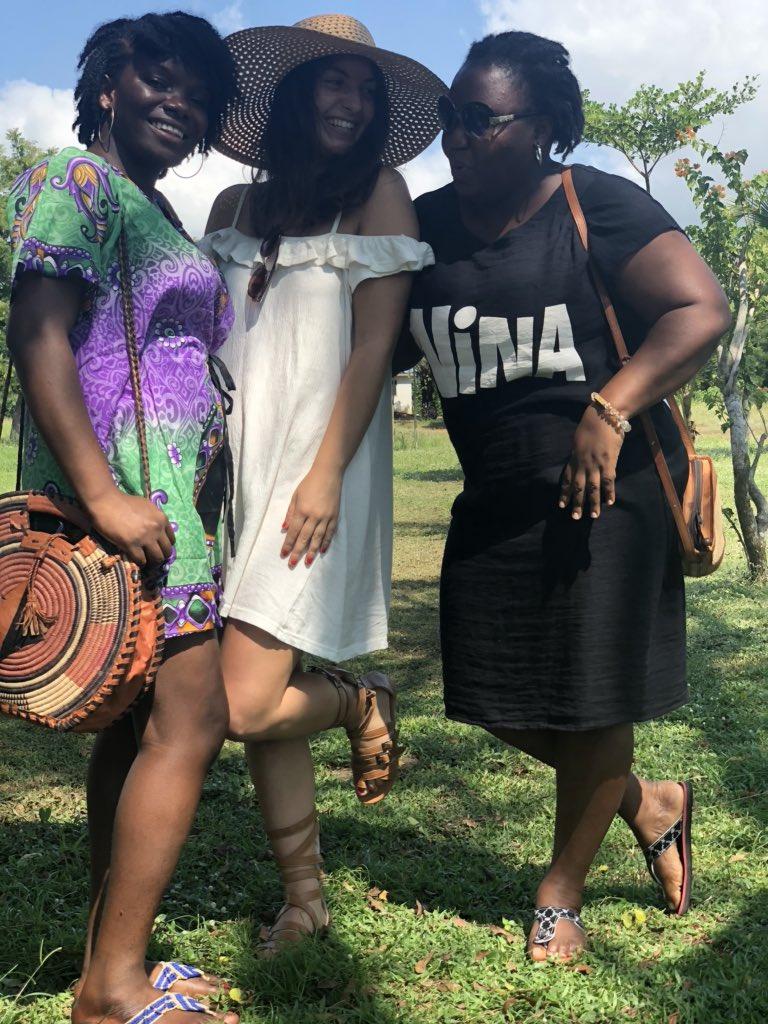 Meine Lieblingskolleginnen ❤️🌴 #erlebees #Ghana #Accra…