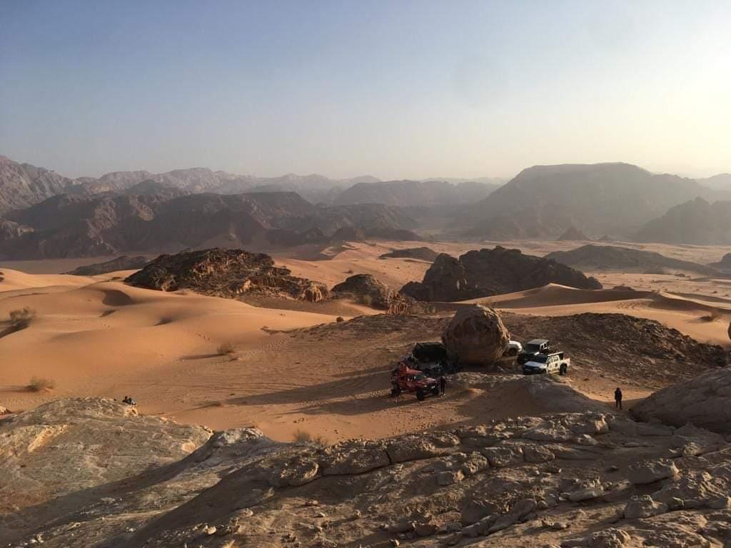 Spaß auf dem Mars.#Jordan #WadiArabah #DAAD #Auslandskorrespondent #ErlebeEs