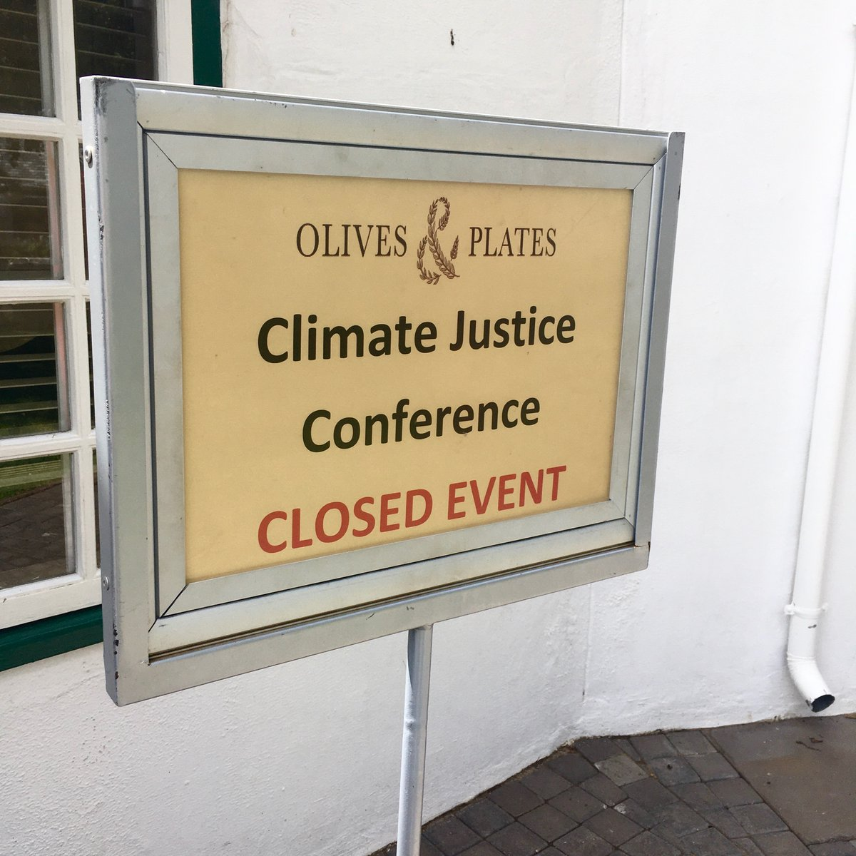 Los geht's! #erlebees #ClimateEmergency #clima #Johannesburg…