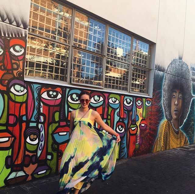 Joburg's streets are bursting with colour…