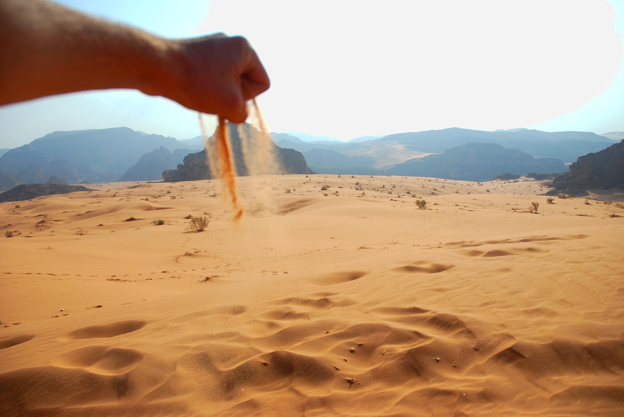Ein einziger, großer Sandkasten: Wadi Arabah ist so anders beeidruckend als…