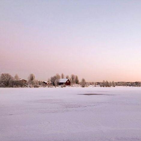 Der Winter ist da ❄️☀️☃️ #ErlebeEs #november #-15grad #finnland…