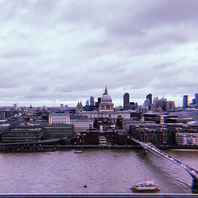Oh London, ich mag dich auch mit deinen vielen grauen Wolken ☁️♥️…