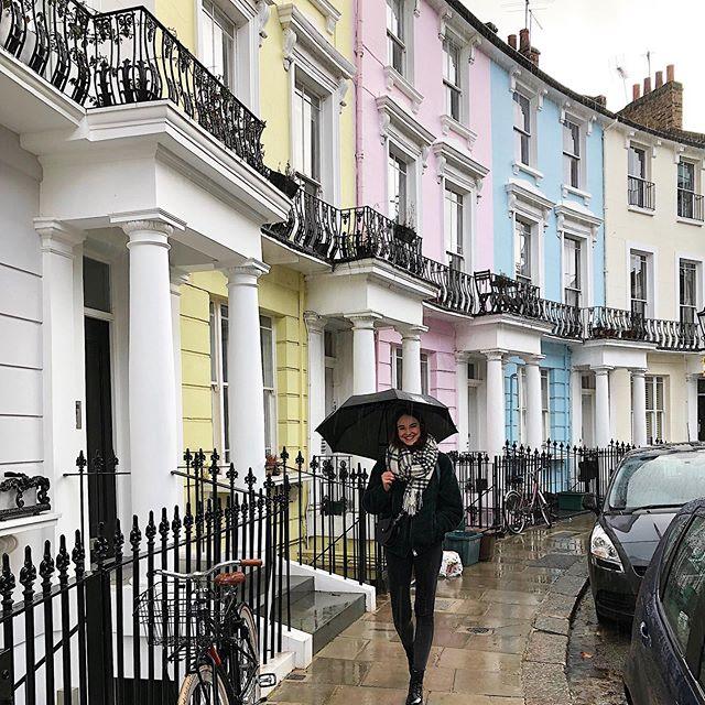 Was ich mittlerweile gelernt habe: Nie das Haus ohne Schirm verlassen! Auch…