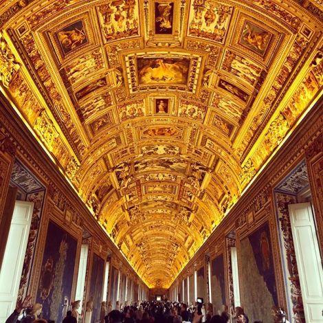 Ich war heute im Vatikan und habe so etwas wie dort noch nie in meinem Leben…