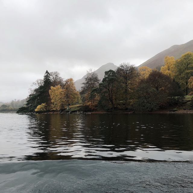 Herbst im Lake District in Nordengland