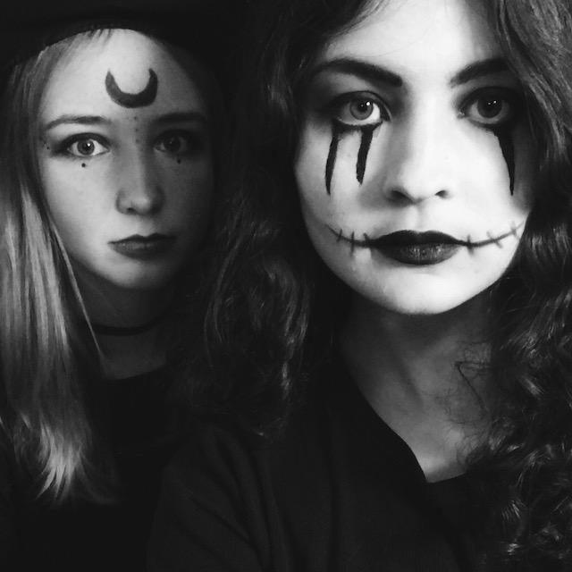 Halloween habe ich mit anderen Erasmusstudis gefeiert.