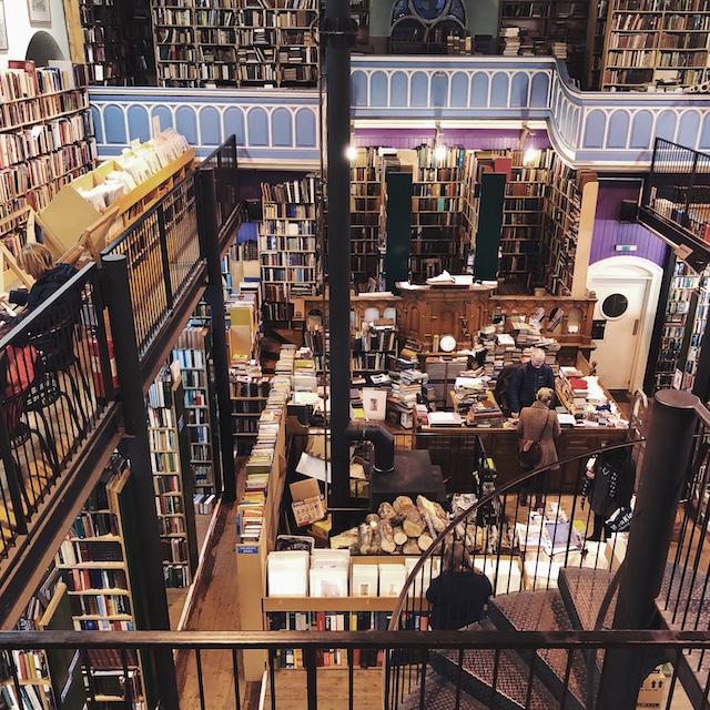 Leakey's Bookshop in Inverness - Ich hätte hier Stunden verbringen können!