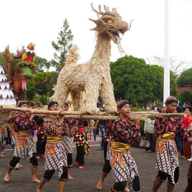 Ein Drache aus Zentral Java