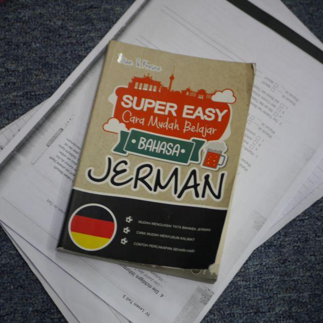 """Übersetzt heißt die """"deutsche Sprache"""" auf indonesisch """"Bahasa Jerman"""""""