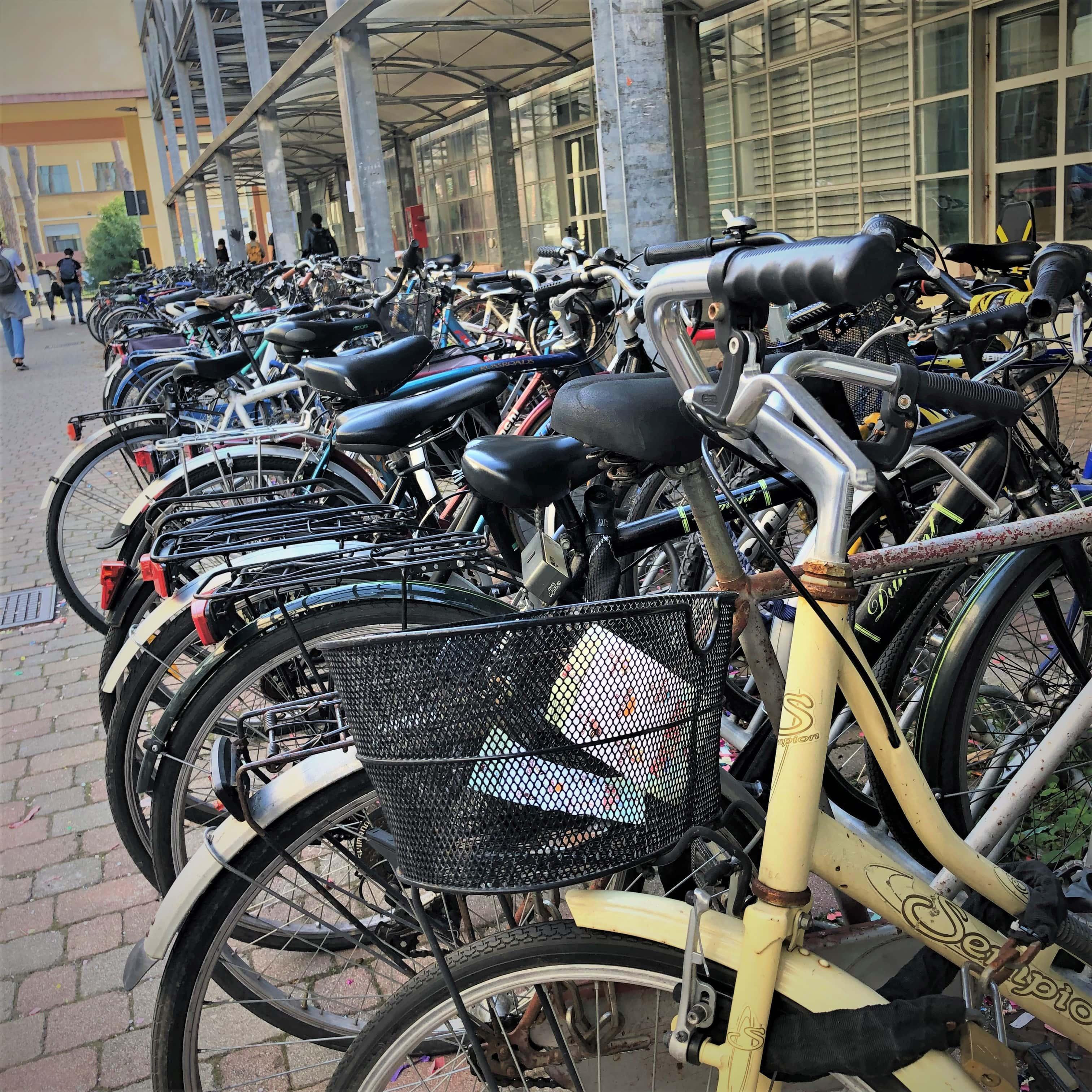Werde ich in Pisa zur Fahrraddiebin?