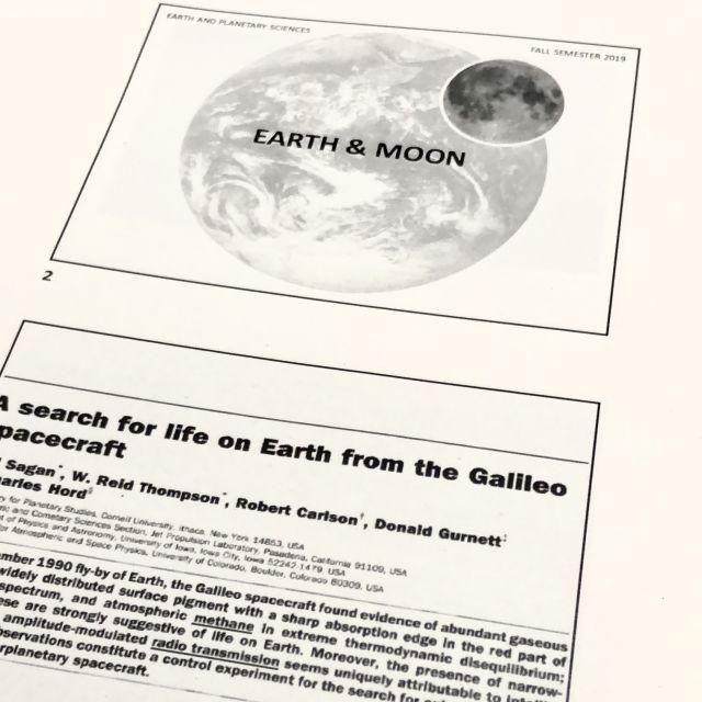 """Ein Vorlesungsskript zum Thema """"Erde & Mond""""."""