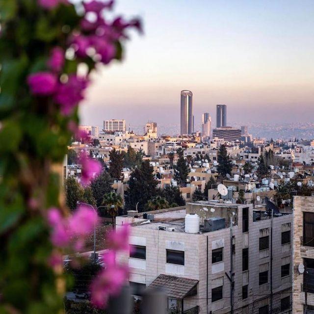 Blick mit Aussicht: Moderne und Tradition treffen in Amman oft aufeinander
