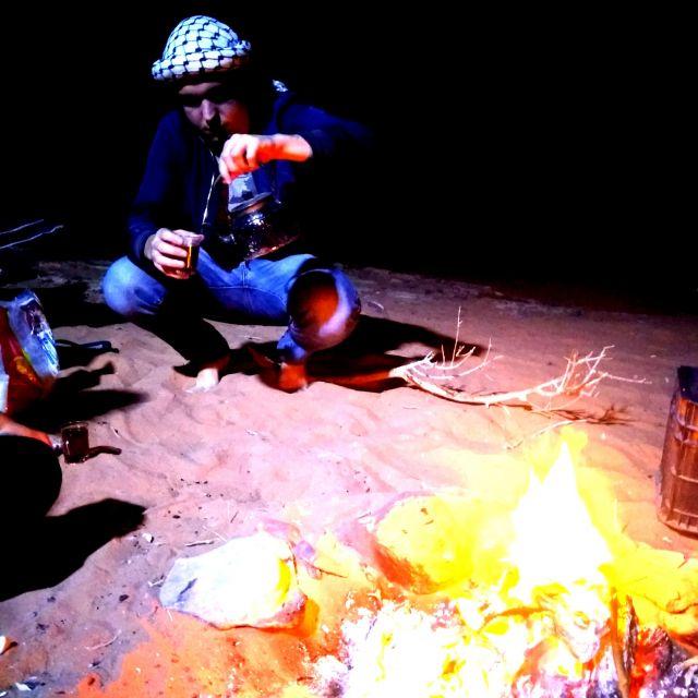 Leckeren, schwarzen Tee bekommt man in Jordanien reichlich