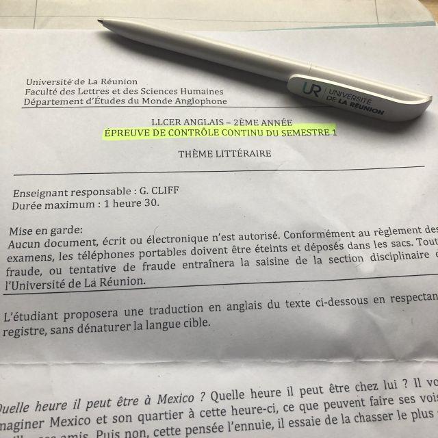 Klausuren auf Französisch: Ist das machbar?
