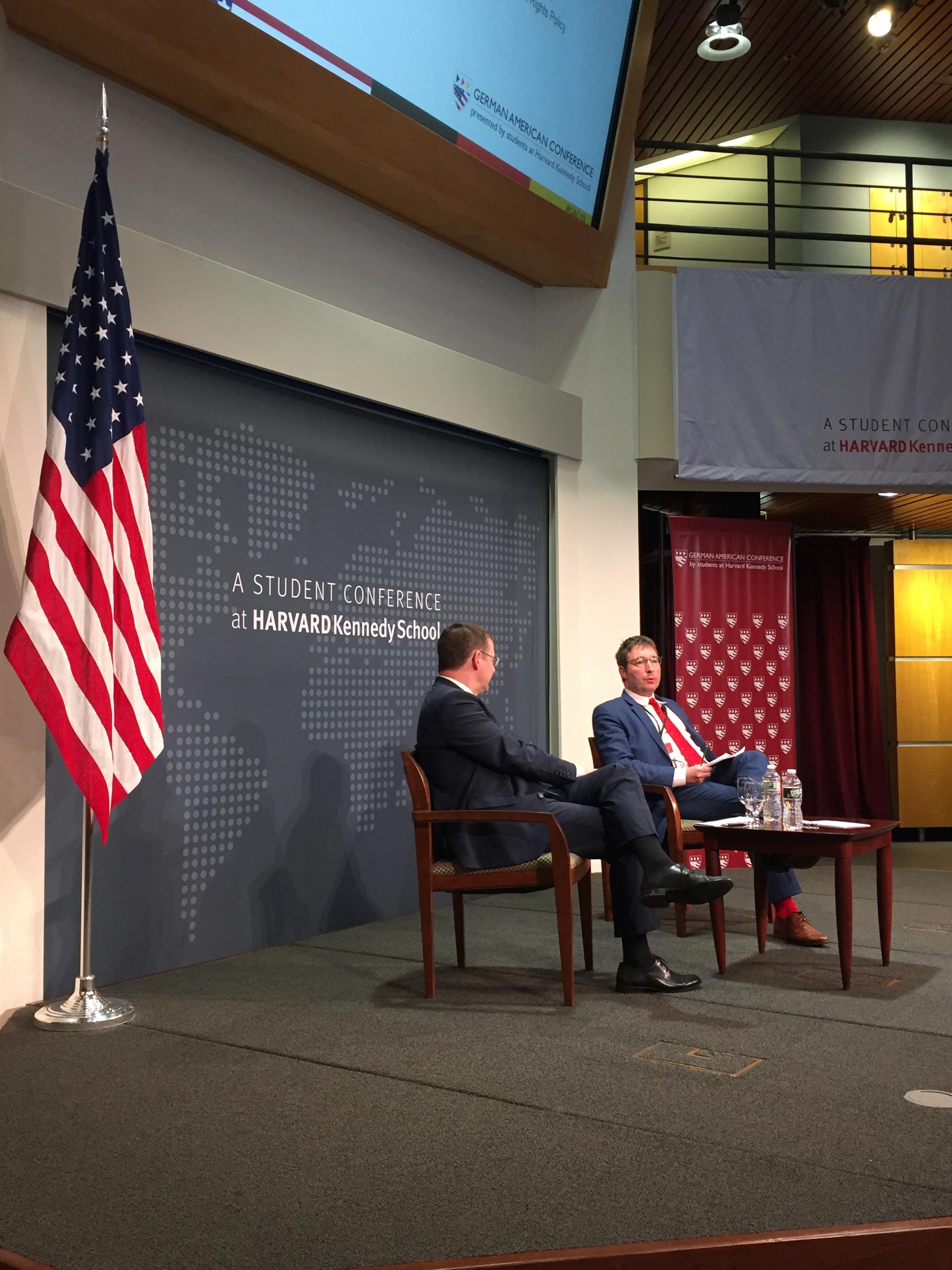 Die German American Conference an der Harvard University