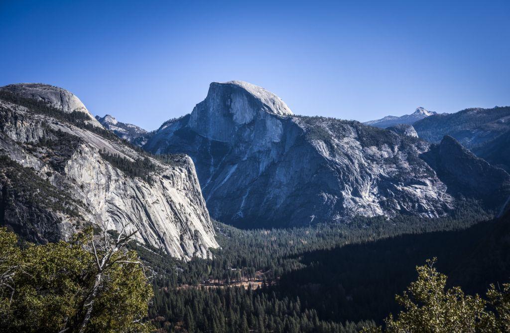 Von Firefall, El Capitan und Half Dome